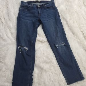 Express girlfriend jeans